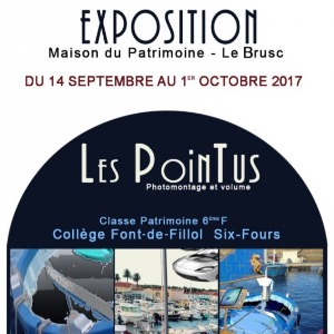 "exposition ""Les Pointus"""
